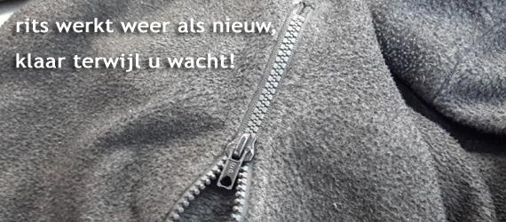 Rits stuk, geen probleem! Vanderwijstkleinvak.nl